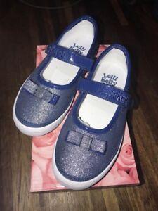 la Sparkly Lelli Filles description Blue Kelly Chaussures Bow tailles Voir Différentes aBnTZFBwxq