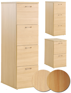 Eco-Office-Filing-Cabinet-2-3-or-4-Drawer-Beech-or-Blonde-Oak