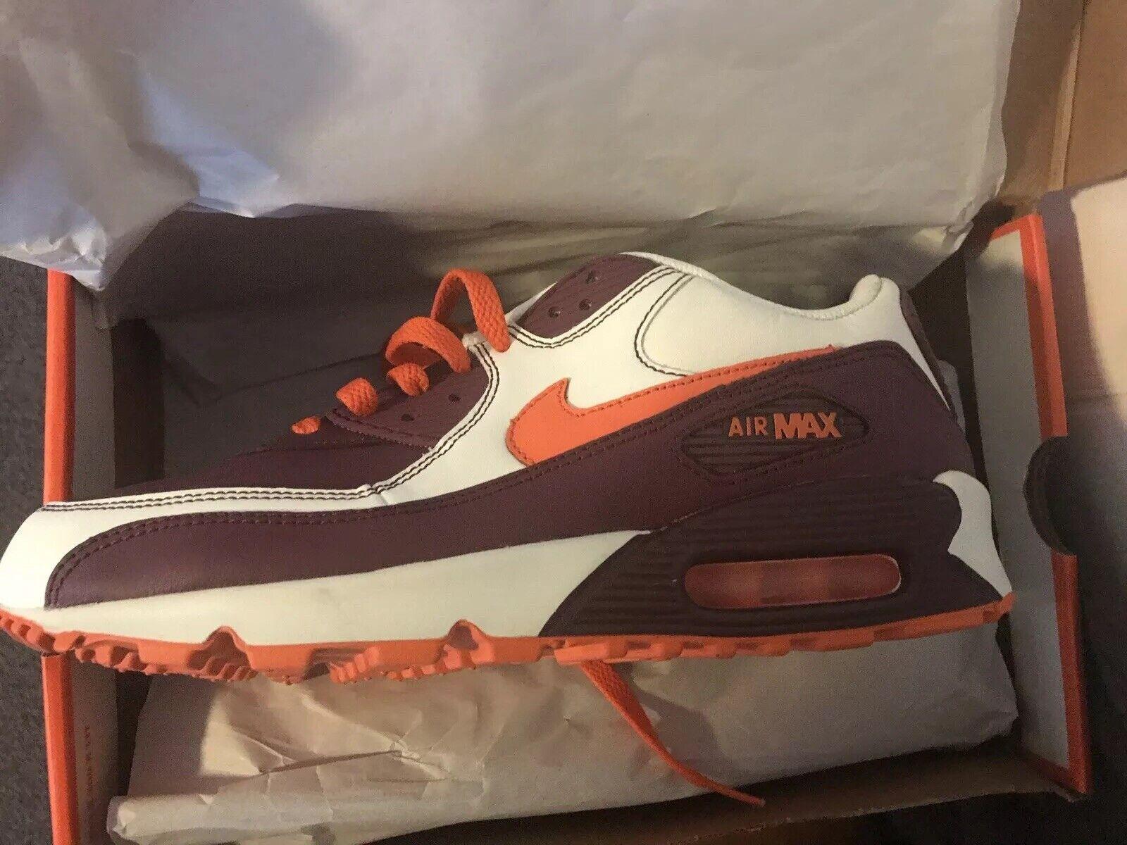 Max Air Nike 90 8.5 New Supreme Size Mens 302519 181 White