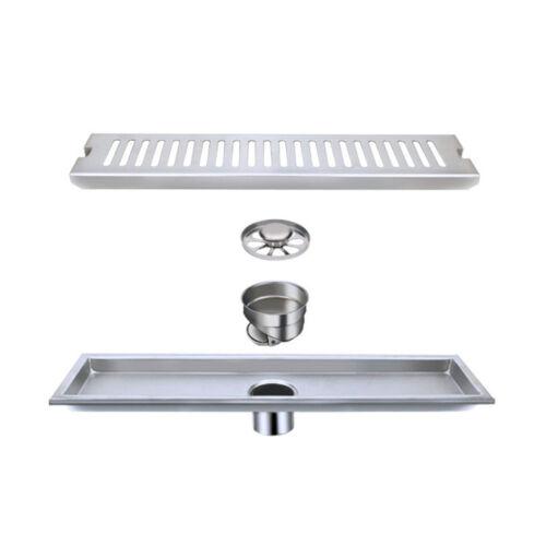 Stainless Steel Bathroom Drainer Floor Drain Linear Long Shower Waste Grate