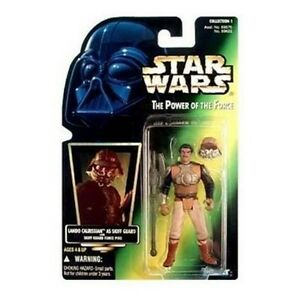 Star-Wars-Lando-Calrissian-Skiff-Guard-The-Power-the-Force-action-figure-NIP