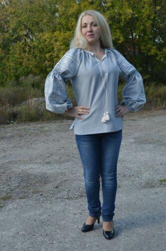 Sale Ukrainian Embroidery Blouse for women Sorochka Vyshyvanka Tradition Shirt