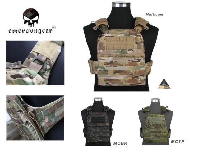 Gear Plate Carrier Heavy Tactical Emerson Em7397 Style Version Cp Vest Avs CeodBx