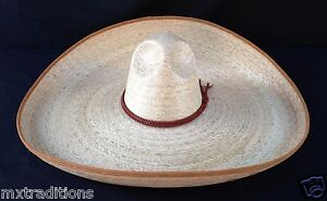 bee9225b1b9ea Mexican Hat Charro Green Palm Size 7.Sombrero Charro Palma Verde ...