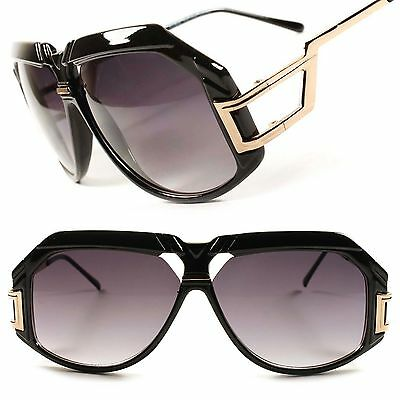 Stylish Hip Hop Vintage Retro Fashion Wide Face Mens Oversized Square Sunglasses