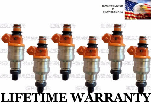 UPGRADED Genuine Nikki Set Of 6 Fuel Injectors For Stealth 3000GT Diamante 3.0L