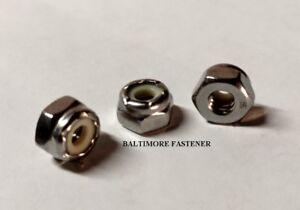 3//8-16 NC Nylon Insert Lock Nuts Brass 100 count box