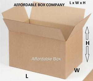 LOCAL PICKUP ONLY - NJ 12 x 10 x 8 Quantity 25 corrugated shipping boxes