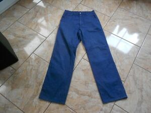 Carhatt Bleu Jeans L34 Simple État neuf H4766 W31 Foncé Pant 1dpWYq