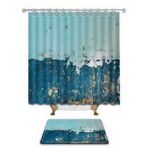 Rainy Climate Waterproof Bathroom Polyester Shower Curtain Liner Water Resistant