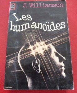 French-Book-Les-Humanoides-Jack-Williamson-Le-Livre-de-Poche