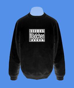 Pullover-Vorsicht-Maedchenmagnet-Herren-move2be-schwarz-S-XXL