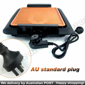 Barbeque Griddle  Non Stick Electric BBQ Teppanyaki Grill Smokeless COPPER PRO