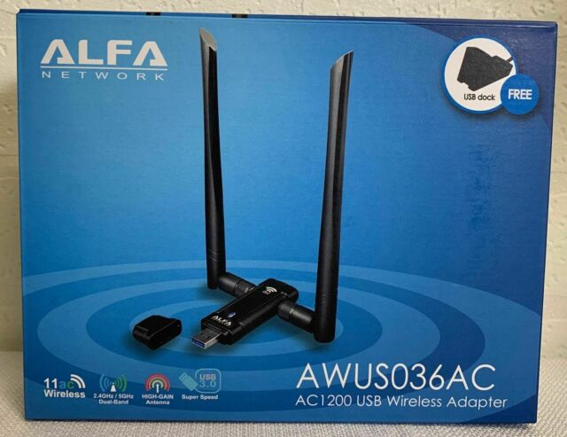 ALFA AWUS036AC 802.11ac USB Adapter