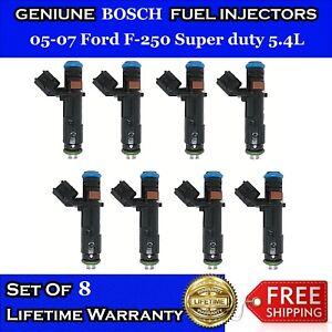 Set 8PCS OEM Bosch Fuel Injectors fit Ford F-150 F-250 Lincoln 2005-2007 5.4L V8