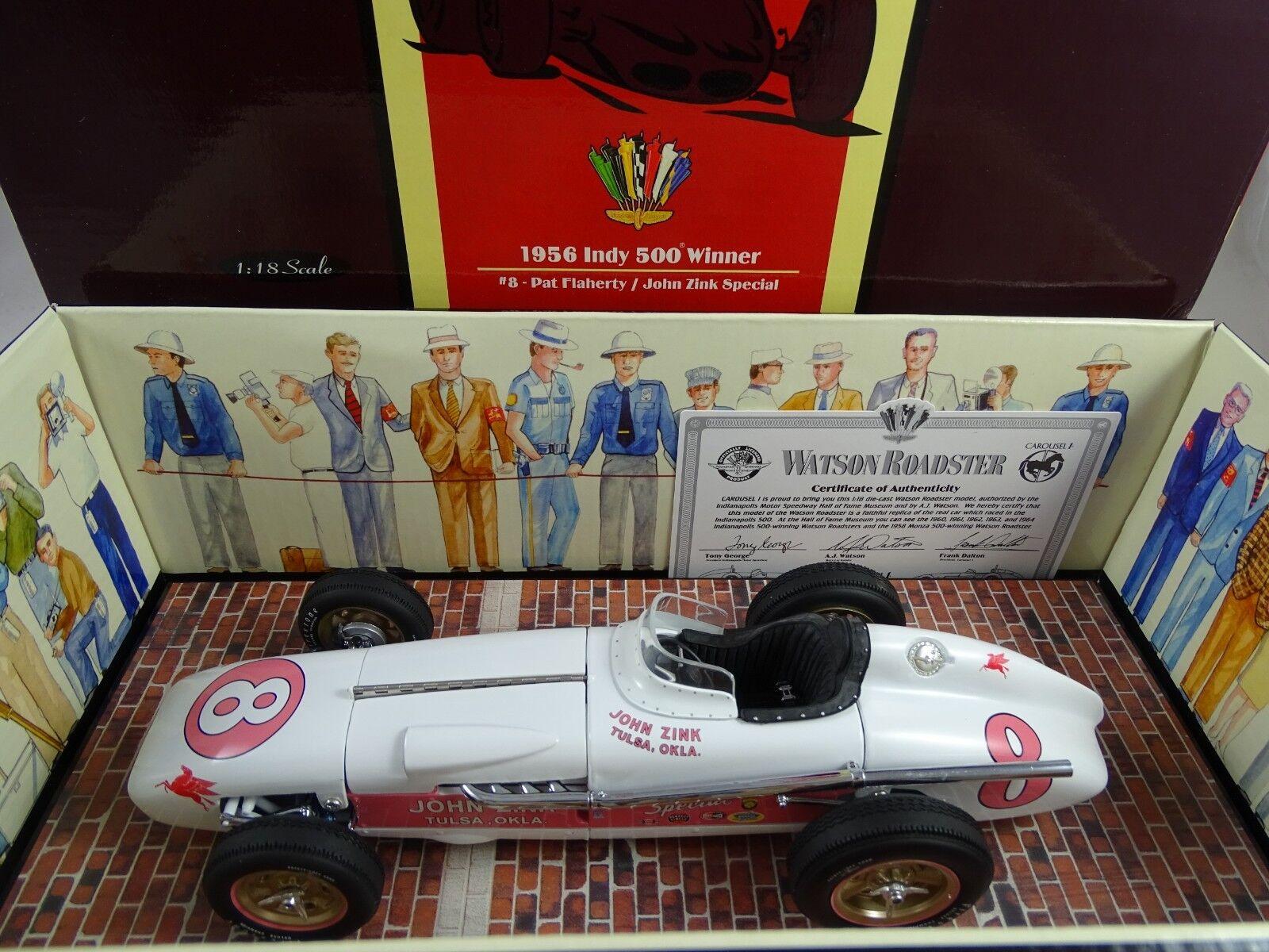 1 18 Carousel  4409 Watson Roadster 1956 Indy 500 Winner  8 Rarität §    Konzentrieren Sie sich auf das Babyleben