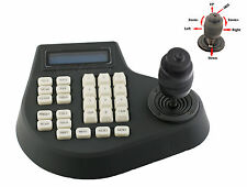 4-Axis 4D PTZ Joystick Controller Keyboard RS485 For CCTV PTZ Dome Camera DVR