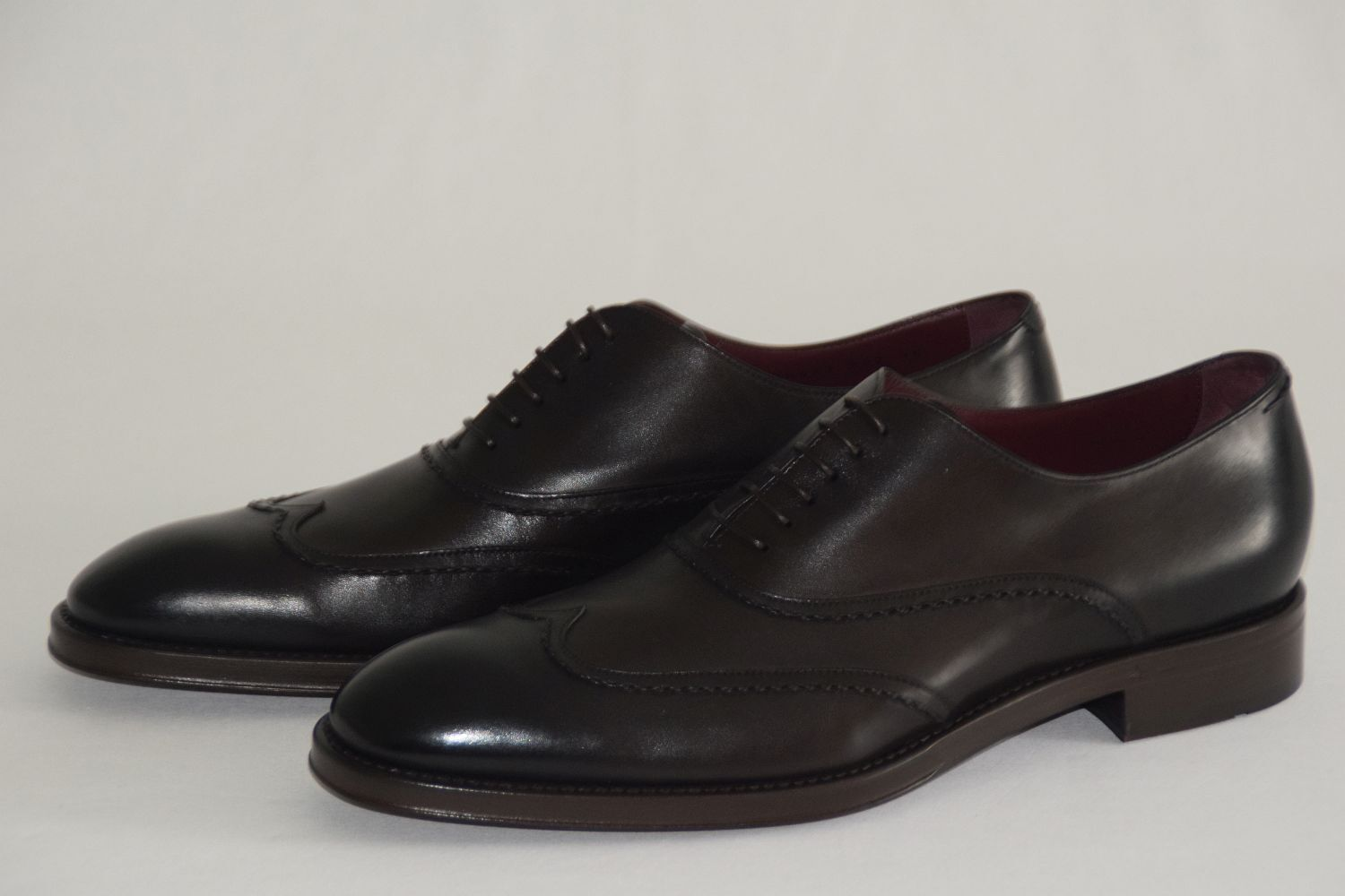 Hugo BOSS tailorosso Business Scarpe, Tg. 44  US 11, Dark Marroneee