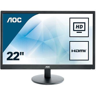 "AOC E2270SWHN, LED-Monitor, 54,6 cm (21,5""), schwarz"