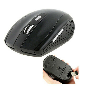 2.4GHz Wireless Cordless Optical Mouse Mice + USB Receiver for PC Laptop GOCA