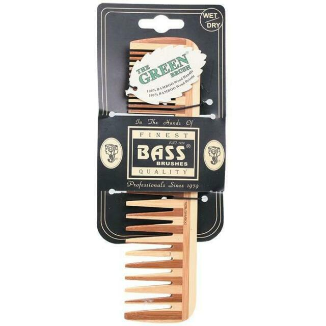 Bass Brushes - Bamboo Pocket Comb Large/Wide