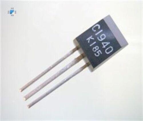N//a 2SC1940 TO-92 negativo positivo negativo transistor de silicio