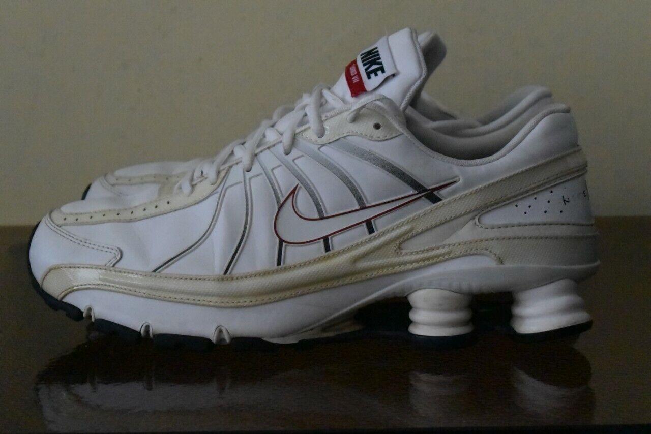 Nike Shox Shox Shox herr utbildare vit Storlek 45.5  Njut av att spara 30-50% rabatt