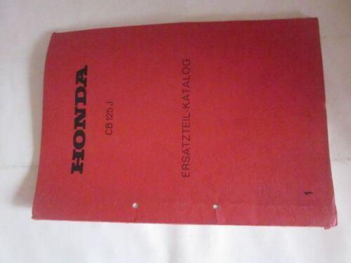 Honda 1338802 EH /_/_ Ersatzteil Katalog CJ 250 T CJ 360 T