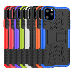Rugged-Hybrid-Armor-Shockproof-Hard-Case-Stand-Cover-For-Apple-iPhone-11-Pro-Max