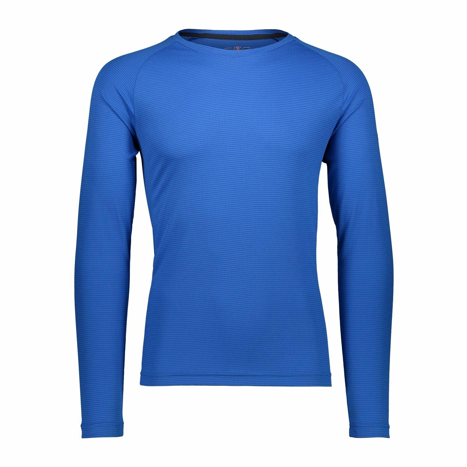 CMP Camisa Funcional Camiseta Man blue Antibacteriano Predección UV colors
