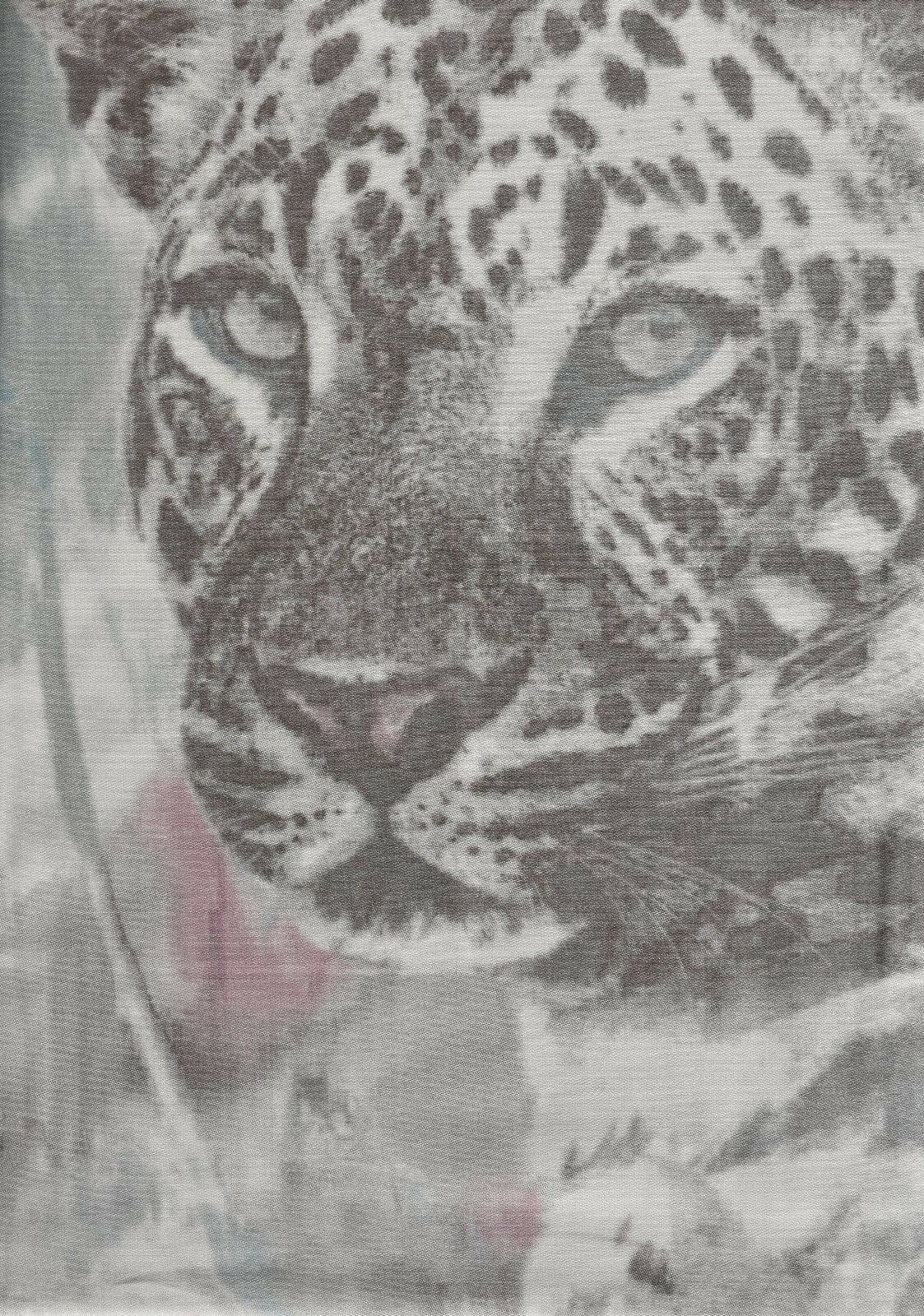 Fleuresse Bettwäsche Set 135 x x x 200 Mako Satin Baumwolle Tiere Leopard Blaumen 400a91