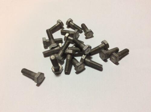 R//3 NOS 2BA Hex Head Aluminium Bolt A17-2C qty 20