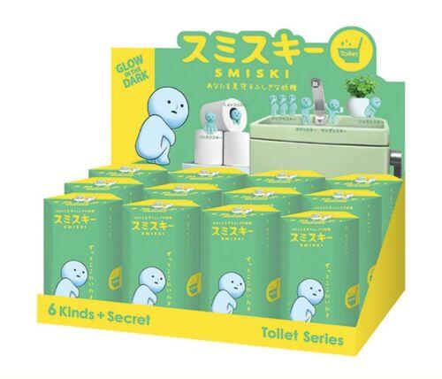Smiski Glow In The Dark Toilet Series Secret Mini Figure Case Set of 12
