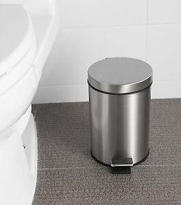 Step Trash Can Waste Litter Garbage Kitchen Storage Basket
