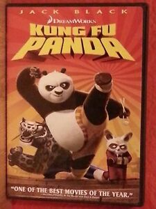Kung Fu Panda (DVD, 2008) Jack Black  Like New