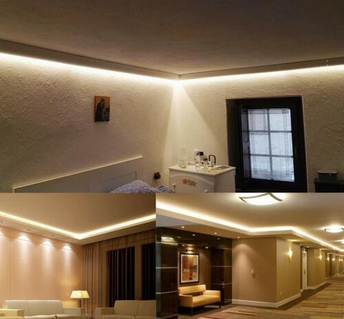 5-20m 12V SMD 2835 LED Stripe Streifen Band Leiste Licht warmweiss Wasserdicht