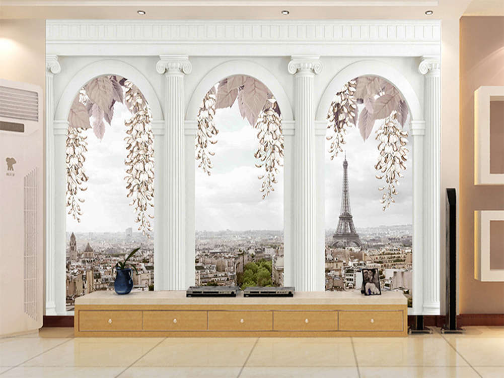 Enormous Pure Pagoda 3D Full Wall Mural Photo Wallpaper Printing Home Kids Decor