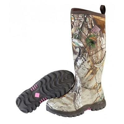 Muck AHT-4RTAP Arctic Hunter Tall Camo Women's Boots Bark/RealTree