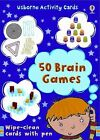 50 Brain Games by Emily Bone (2008, Cards,Flash Cards / Mixed Media)
