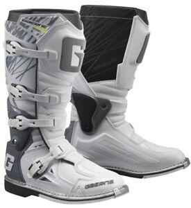 Dettagli su Stivale Motocross Gaerne Fast Back Endurance New 2019 Bianco N 43