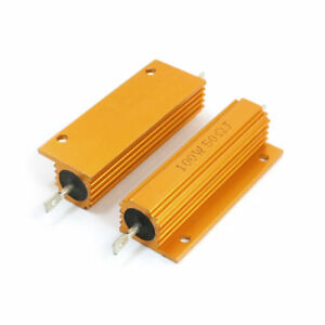 H-2-100W-50ohm-Resistance-Aluminum-Chassis-MountedWirewound-Resist