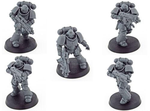 Intercessor Squad APrimaris Space MarinesDark ImperiumWarhammer 40k