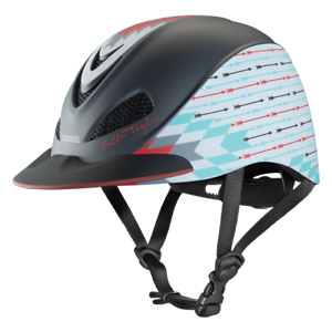 Troxel Riding Helmet Duratec Grey Firestorm Fallon Taylor Safety Low Profile