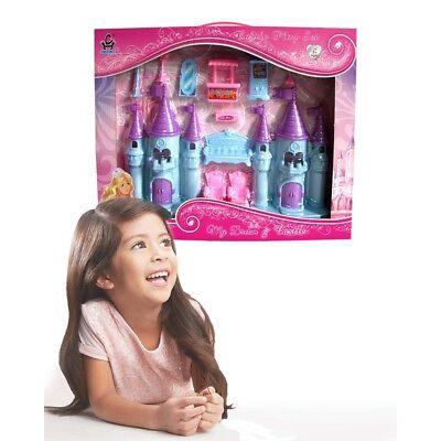 Castello per bambole con accessori - Romantico castello per bambine