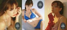 JAPANESE IDOL Yumi Sugimoto 2013 Chokumaga 3 PROMO CARDS COMPLETE SET LOT 1
