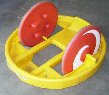 MARX KRAZY KAR  SPINNING RIDE ON TOY C. 1970  BIG WHEEL  CLASSIC