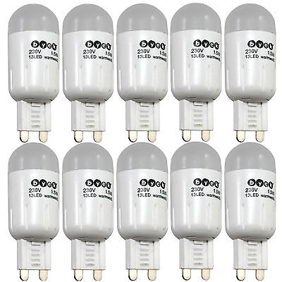 10 x LED SMD mini G9 extrem kompakt Warmweiß 2,4W 230V Leuchtmittel Halogen i11