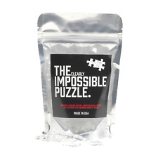 NEW AND IMPROVED! Quarantine Clear Impossible Jigsaw Puzzle Acrylic 100 pieces