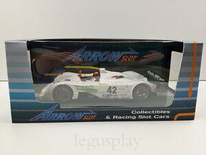 Slot-Car-Scalextric-ARROW-SLOT-AR-1002A-BMW-V12-Lmr-42-Sebring-1999-Winner