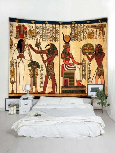 Ancient Egypt Printed Tapestry Wall Home Decoration Tapestry Wall Home Bedspread